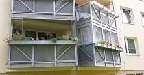 Sanace a opravy lodžií, balkónů
